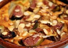 Fig and Almond Clafoutis Recipe