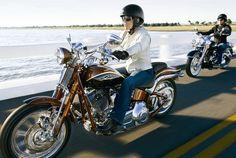 Pioneers on two wheels Rat Rod Motorcycle, Female Motorcycle Riders, Lady Biker, Biker Girl, Women Riding Motorcycles, Badass Women, Real Women, Biker Chick, My Ride