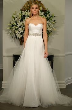 Romona Keveza Collection - Sweetheart Mermaid Gown in Satin