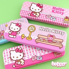 Hello Kitty Pastel Pattern Pencil Case | Blippo Kawaii Shop