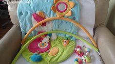Dětská hrací deka s hrazdičkou - obrázek číslo 1