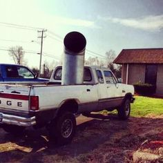 "Stacks anybody?! Lol #36"" #cummins #mean #dumb #funny #southern #country #whocares #justrollsomecoal"