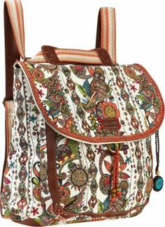 Sakroots Artist Circle Convertible Backpack Natural Spirit Desert. I bought this bag last week and it has changed my life.