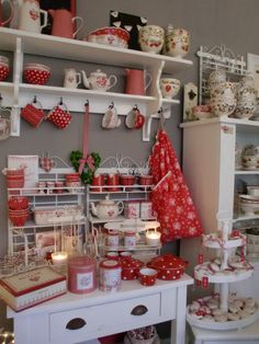 GreenGate Christmas Bag XL Claire Red 65 x 55 cm | Christmas GreenGate | Originated-Shop with 50% discount!