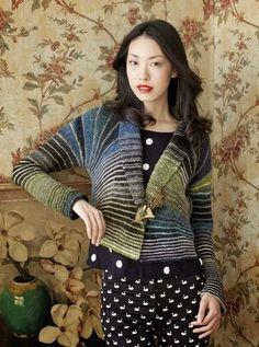 Dziana Moda: Sweter na drutach Iriny Poludnienko