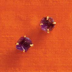 kate spade | designer earrings - turquoise mountain amethyst studs    -ill take these in every color please