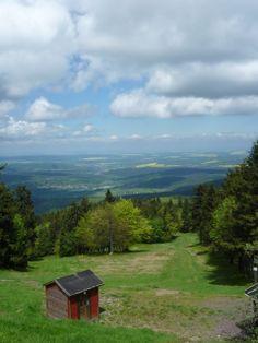Inselberg -Thüringer Wald -Rennsteig