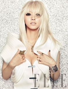 Actress Han Ye Seul teams up with Lady Gaga's stylist for 'ELLE'