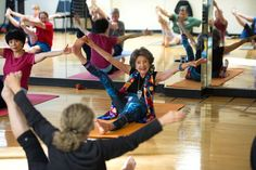 "Tao Porchon-Lynch teaches a yoga class in Scarsdale, N.Y. ""I haven't finished learning,"" says Ms. Porchon-Lynch, who is 97. ""My students are my teachers."""