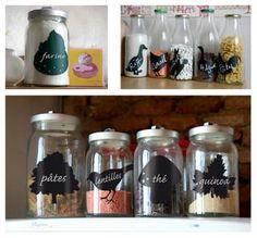tarros vidrio reciclados