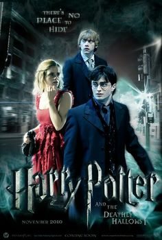 Harry Potter And The Deathly Hallows Part 1 Poster Featuring....Harry, Ron And Hermione!