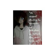 creepypasta ❤ liked on Polyvore featuring creepypasta, phrase, quotes, saying and text