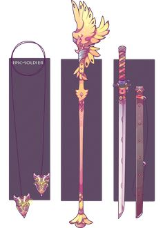 Weapon commission 34 by Epic-Soldier.deviantart.com on @DeviantArt