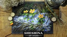 How to draw snowdrops with soft pastels  Sheshina Ekaterina