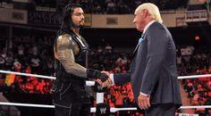 WWE Roman Reigns & 'The Nature Boy' Ric Flair