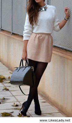 White, peach and black