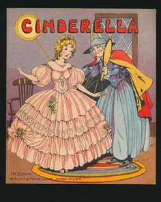 'Cinderella' illustrated by Eulalie, 1934 | eBay