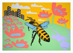 Krzysztof Winnicki: BEE - ARECHITEKTURA I ETYKA Tweety, Bee, Fictional Characters, Honey Bees, Bees, Fantasy Characters