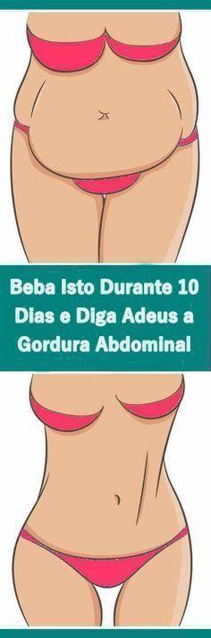 Suco pra eliminar gordura abdominal