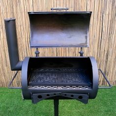 True Texas Pits is under construction Bbq Pit Smoker, Barbecue Pit, Fire Pit Grill, Small Bbq, Small Grill, 55 Gallon Drum Smoker, Stainless Steel Shelving, High Heat Paint, Barrel Grill