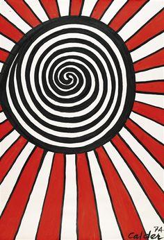 Alexander Calder, GOOD SHOT, 1974