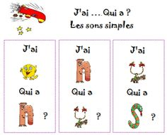 I who - alphas - - Montessori, Sons, Reading, School, Blog, Cycle 1, French, Distance, Board