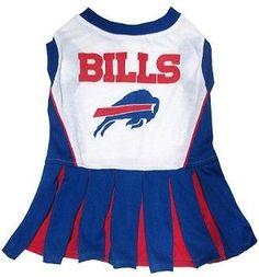 Buffalo Bills CheerLeading Outfit