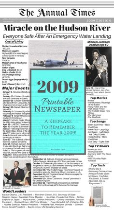 Welcome to the year Below you will find the list I compiled of major events, trends, world leaders, cost of living, and popular culture for the year I hope this helps you with the baby … Newspaper Archives, Old Newspaper, 3rd Millennium, Emergency Water, Major Events, Baby Girl Names, S Stories, Memory Books, World Leaders