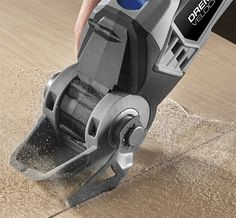 Dremel Velocity Oscillating Tool Used with Control Foot