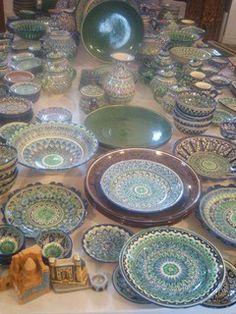 Uzbekistan plates www.showcasebot.com