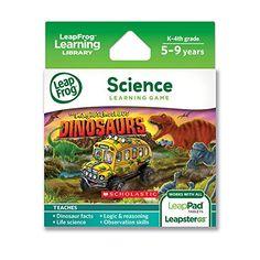 LeapFrog Explorer Scholastic The Magic School Bus Dinosaurs Learning Game LeapFrog Enterprises http://www.amazon.com/dp/B00CG0CMEO/ref=cm_sw_r_pi_dp_UpiEub1MRRWR0