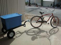 bike trailer ball hookup