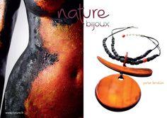 Nature Bijoux - Bisuteria en materiales naturales - Nácares, perlas, cuernos, piedras, hueso - París