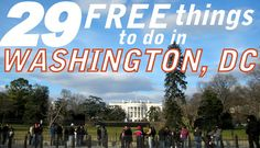 free things in Washington, D.C. #staycation