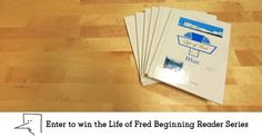 Enter to win this amazing package of all 3 sets of the Life of Fred Beginning Reader Series!  With 18 different award-winning Life of Fred books, they will have never-ending fun while developing their reading skills. The Giveaway features all 3 sets, a $108 value - but the educational experience is truly priceless.