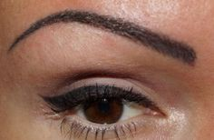 View permanent cosmetics eyeliner before and after photos from actual clients, performed by our Certified Permanent Cosmetic Professionals. Semi Permanent Eyeliner, Permanent Makeup Eyebrows, How To Apply Eyeliner, No Eyeliner Makeup, Brown Eyeliner, Eyeliner Images, Eyeliner Styles, Makeup Artist Tattoo, Makeup Tattoos