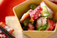タコとキュウリの酢の物のレシピ・作り方 - 簡単プロの料理レシピ | E・レシピ