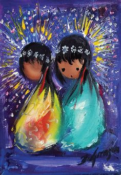 """Upon request here is a photo of DeGrazia's """"Holiday Celebration"""". Hope you enjoy…"""