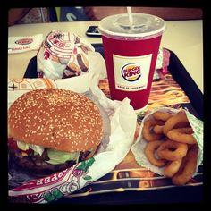 Burger King - Whopper & Onion Rings