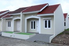 Griya Satria Mandalatama Row House Design, Bungalow House Design, Duplex House Plans, Small House Plans, Affordable House Plans, Minimalist House Design, Apartment Plans, Rental Apartments, Home Fashion