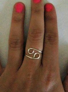 Zodiac Sign Ring- Cancer on Etsy, $9.00