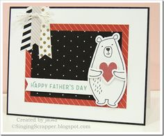 Jack-Cardmaking stamp set & thin cuts (Z3333) with paper fundamentals and Live Beautifully paper