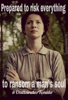 Claire Fraser ready to save her husband  #Outlander ..........................