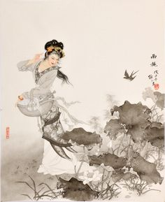 作品集-项维仁工笔人物画官方网站 Xiang Wei Ren / 项维仁