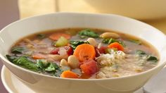 Bring a touch of the Italian countryside to your dinner table with this flavorful veggie-packed soup. A hearty bowlful will warm up the coldest day!
