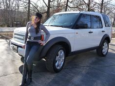 My current ride… Land Rover LR3 2008 ( I think)  Very nice car with 3 huge sunroofs for those pretty sunny days!!