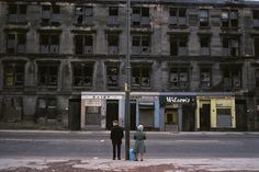 Don't think there's a photo that could sum-up Glasgow better in the 80's. Raymond Depardon: Glasgow, 1980.