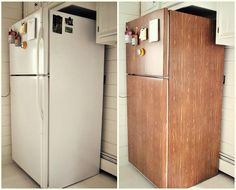 Before & After: Refrigerator Makeover