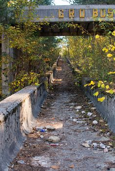 Bobsled track built for the 1984 olympics in Sarejevo (formerly Yugoslavia). The track has since been abandoned and was used as cover during the Bosnian War. #AbandonedPlaces #Sarejevo