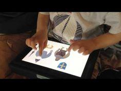 Their world: GenApp-er enjoys game on The Prisoner of Carrot Castle iPad book app.